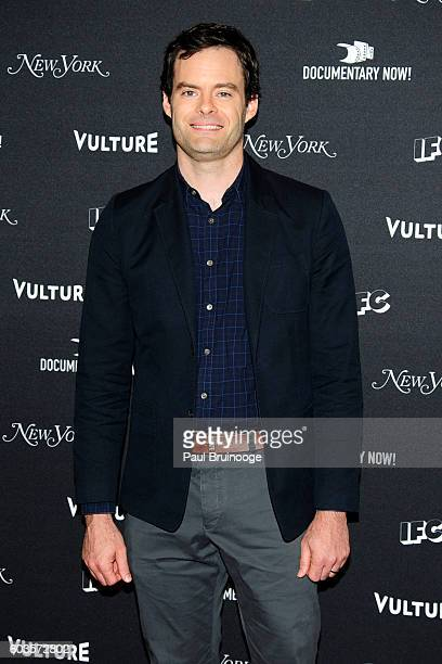 Bill Hader attends the IFC's 'Documentary Now' Season 2 Premiere at The New Museum on September 12 2016 in New York City