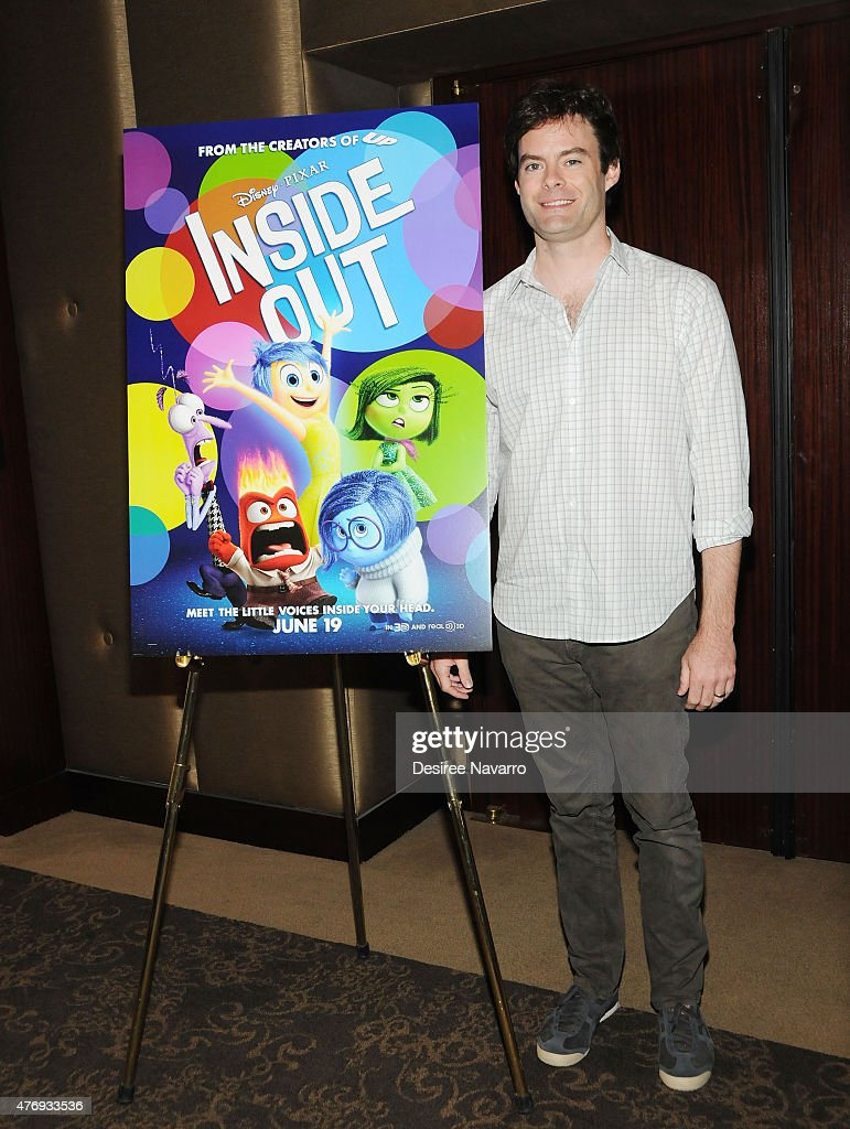 Bill Hader attends The Moms 'Inside Out' Mamazzi Event with Bill Hader at Dolby Screening Room on June 12, 2015 in New York City.