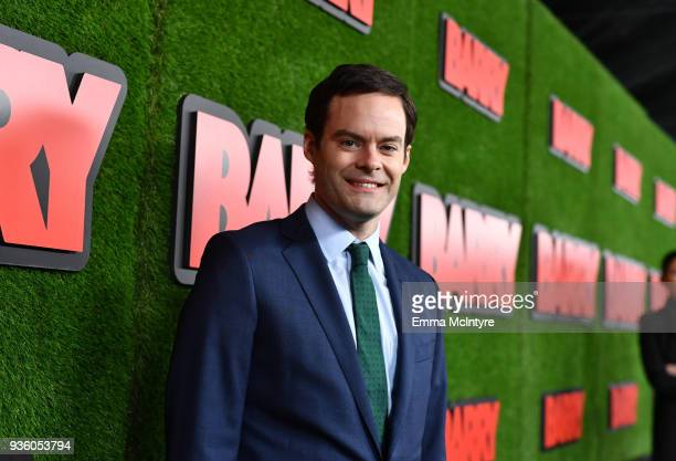 Bill Hader attends the premiere of HBO's Barry at NeueHouse Hollywood on March 21 2018 in Los Angeles California