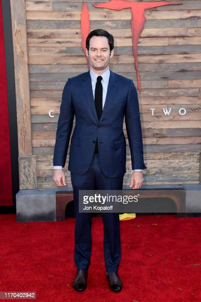 Bill Hader attends the Premiere of Warner Bros Pictures' It Chapter Two at Regency Village Theatre on August 26 2019 in Westwood California