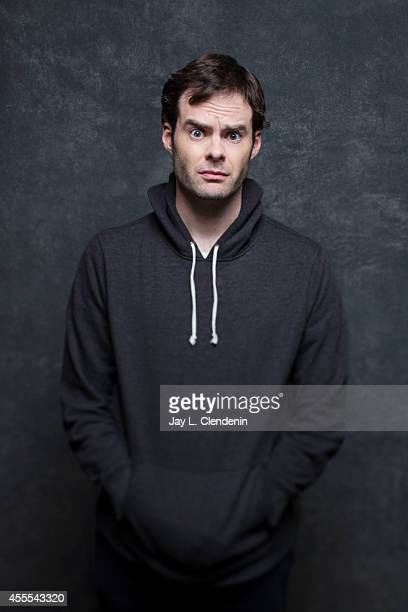 Bill Hader is photographed for Los Angeles Times on January 18 2014 in Park City Utah PUBLISHED IMAGE CREDIT MUST READ Jay L Clendenin/Los Angeles...