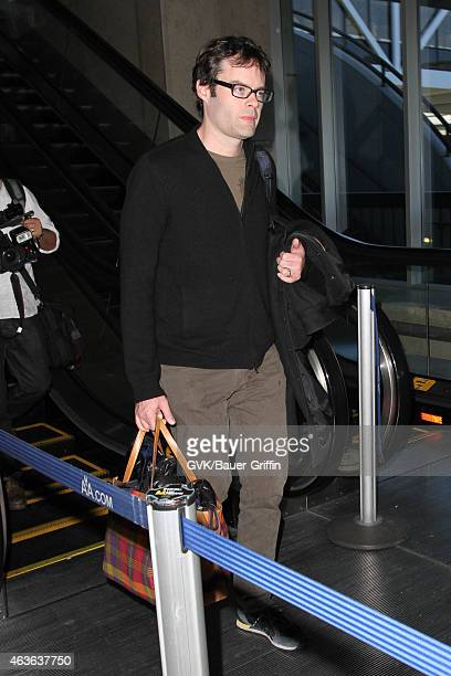 Bill Hader seen at LAX on February 16 2015 in Los Angeles California