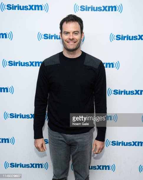 Bill Hader visits the SiriusXM Studios on May 15 2019 in New York City
