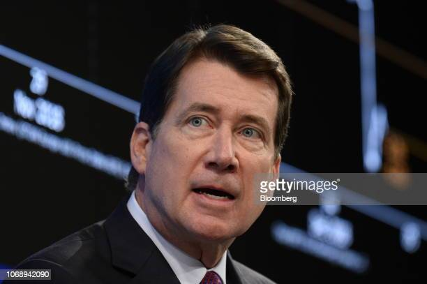 Bill Hagerty US Ambassador to Japan speaks during the Bloomberg Year Ahead summit in Tokyo Japan on Thursday Dec 6 2018 The summit addresses the most...