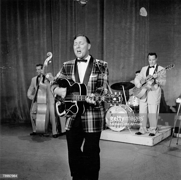 Bill Haley and His Comets perform on The Ed Sullivan Show on August 7 1955 in New York New York City