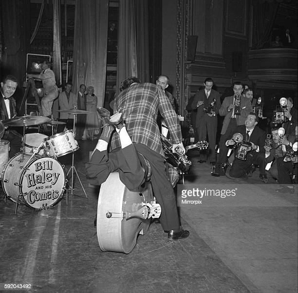 Bill Haley and the Comets on stage 7th February 1957 J86277