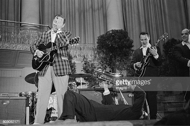 Bill Haley and the comets Vienna Konzerthaus 1958 Photograph by Franz Hubmann