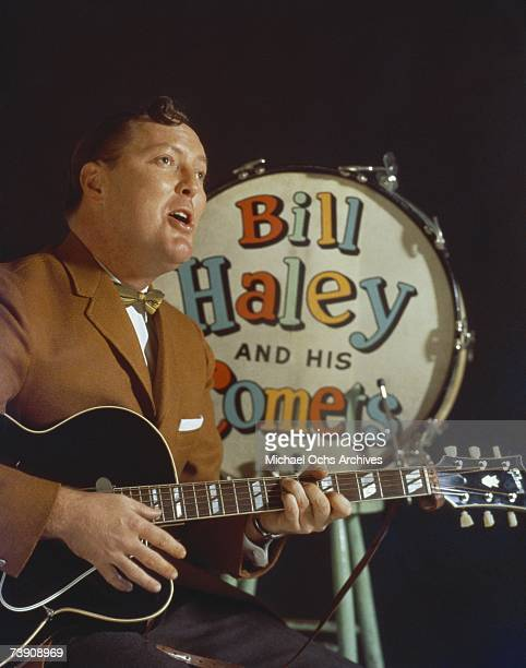 Bill Haley poses for a portrait circa 1960