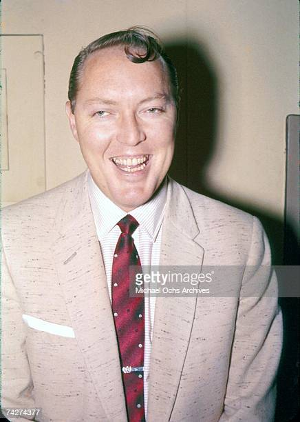 Bill Haley poses for a portrait in 1959 in Cleveland Ohio