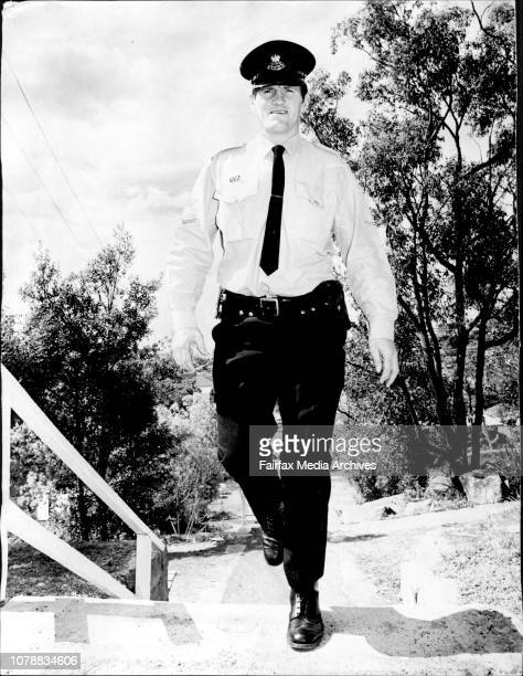 Bill Hamilton walking the steps in Redman Road Dee Why ManlyWarringah Rugby League forward Bill Hamilton went about his usual duties today on the eve...