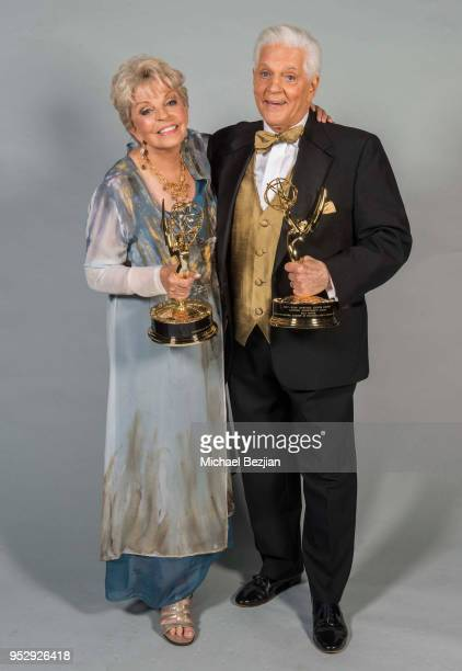 Bill Hayes and Susan Seaforth Hayes pose for portrait at 45th Daytime Emmy Awards Portraits by The Artists Project Sponsored by the Visual Snow...