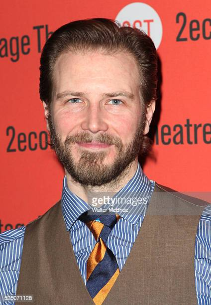 Bill Heck attending the Second Stage Theatre Company's Off-Broadway Opening Night Celebration of the 2012 Pulitzer Prize Winning Play 'Water By The...