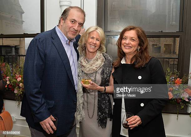 Bill Helman, Amy Weinberg and Debra Black attend the Floral Salon celebration by Garden Collage and Phaidon on May 4, 2016 in New York City.