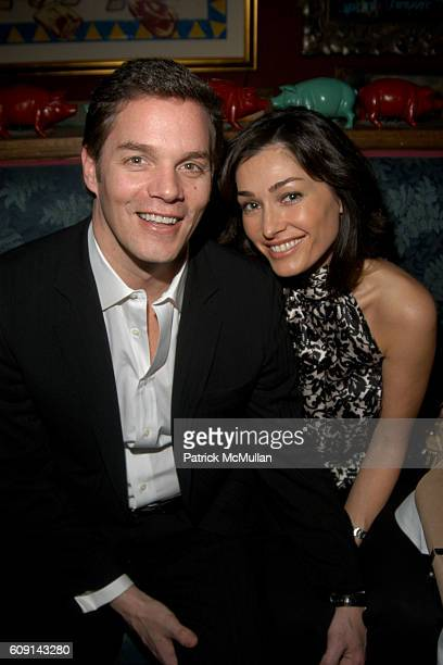 Bill Hemmer and Dara Tomanovich attend New York Magazine's 2nd Annual Oscar Viewing Party at The Spotted Pig on February 25 2007 in New York