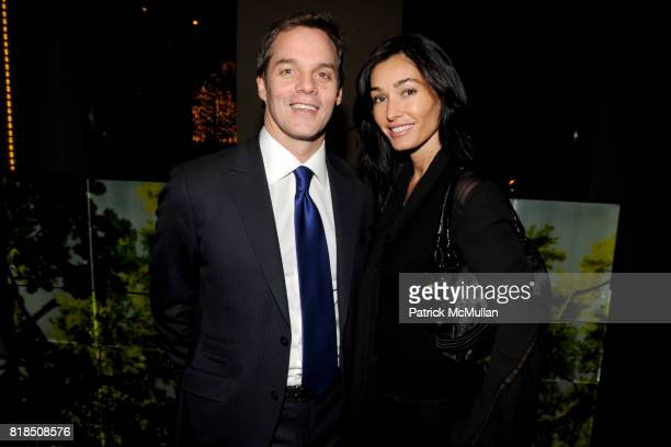 Bill Hemmer Dara Tomanovich attend the Reception For DR SANJAY GUPTA's Book and DVD CHEATING DEATH at Rogue Tomate on December 14 2009 in New York...