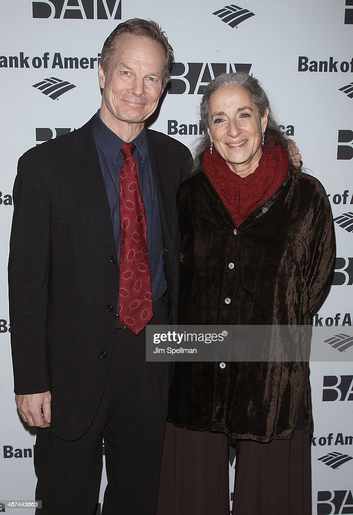 Bill Irwin and wife Martha Roth attend the 2014 BAM Theater gala at Skylight One Hanson on February 6, 2014 in the Brooklyn borough of New York City.