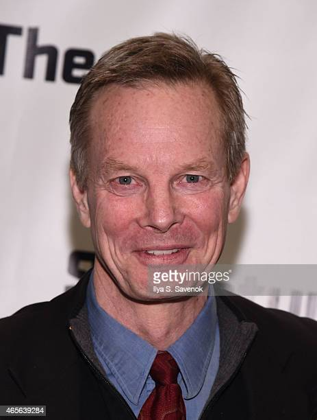 Bill Irwin attends 'The Liquid Plane' Opening Night Party at Signature Theatre Company's The Pershing Square Signature Center on March 8 2015 in New...
