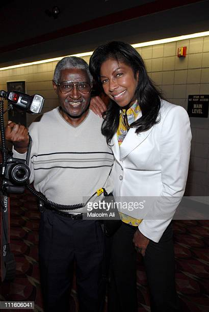 Bill Jones and Natalie Cole during Natalie Cole Hosts Akeelah and the Bee for 4th and 5th Graders at Angeles Mesa Elementary School May 2 2006 at...