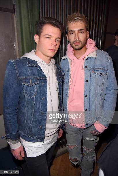 Bill Kaulitz and Georg Listing attend the Pantaflix Party At The 67th Berlinale International Film Festival on February 13, 2017 in Berlin, Germany.