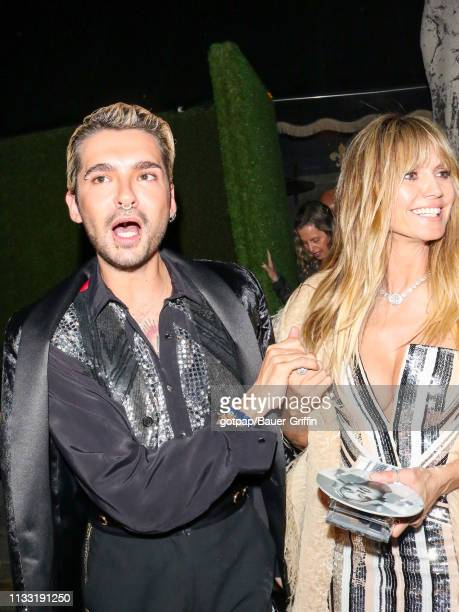 Bill Kaulitz and Heidi Klum are seen on March 26 2019 in Los Angeles California