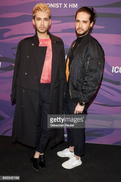 Bill Kaulitz and Tom Kaulitz attend the Young ICONs Award in cooperation with HM and Tiffany's Co at BRLO Brwhouse on February 14 2017 in Berlin...
