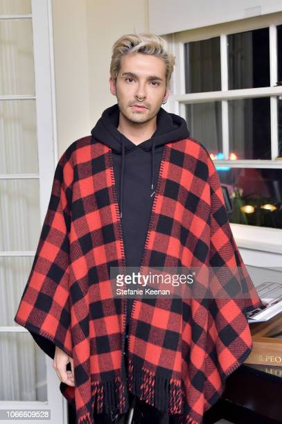 Bill Kaulitz attends Oliver Peoples Assouline Present California As We See It at Chateau Marmont on November 29 2018 in Los Angeles California