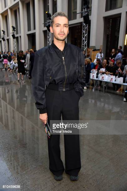 Bill Kaulitz attends the Marina Hoermanseder show during the Berliner Mode Salon Spring/Summer 2018 at Kronprinzenpalais on July 7 2017 in Berlin...