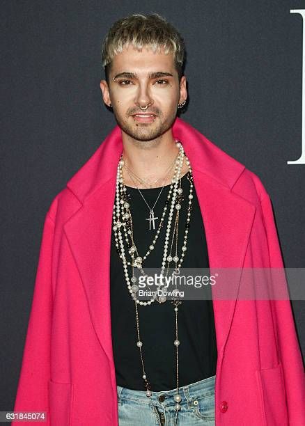 Bill Kaulitz attends the Maybelline Hot Trendsxhbition 2017 show during the MercedesBenz Fashion Week Berlin A/W 2017 at Motorenwerk on January 16...