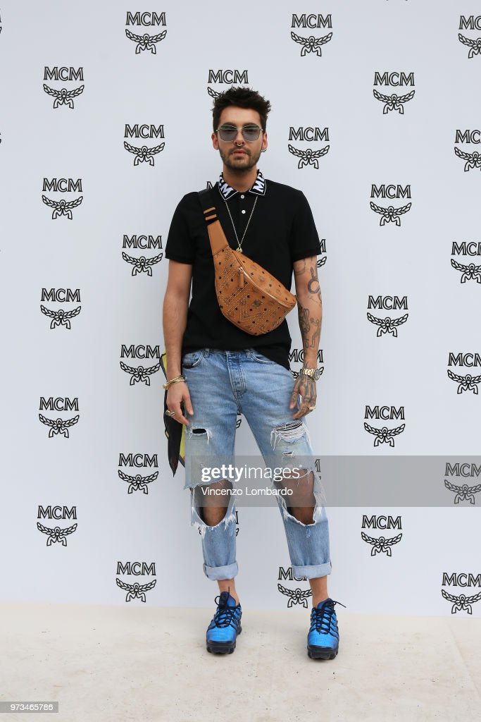 Bill Kaulitz attends the MCM Fashion Show Spring/Summer 2019 during the 94th Pitti Immagine Uomo on June 13, 2018 in Florence, Italy.