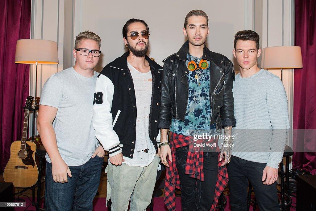 Tokio Hotel Performs At Hotel De Sers