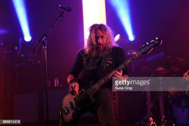 Bill Kelliher of Mastodon performs at O2 Academy Brixton on December 10 2017 in London England
