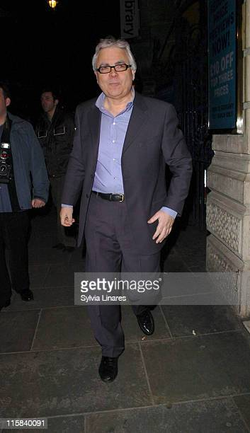 "Bill Kenwright during ""Treats"" Press Night - Departures at Garrick Theatre in London, Great Britain."