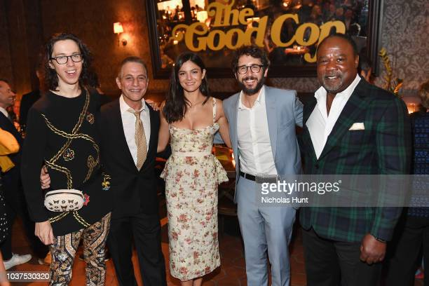 Bill Kottkamp Tony Danza Monica Barbaro Josh Groban and Isiah Whitlock Jr attends the after party for the New York Premiere of Netflix's Original...