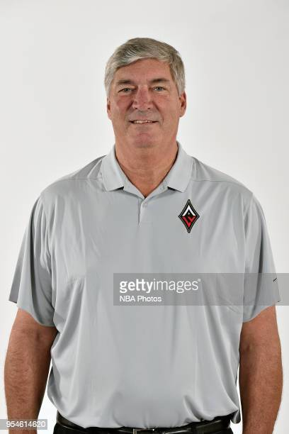 Bill Laimbeer of the Las Vegas Aces poses for a head shot at WNBA Media Day at MGM Grand Garden Arena on May 3 2018 in Las Vegas Nevada NOTE TO USER...