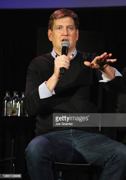 Bill Lawrence attends 'Scrubs Reunion' during Vulture Festival presented by ATT at Hollywood Roosevelt Hotel on November 17 2018 in Hollywood...
