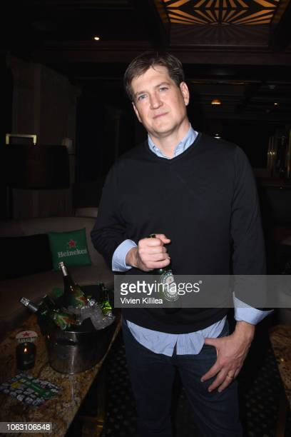 Bill Lawrence attends the Heineken Green Room during Vulture Festival presented by ATT at Hollywood Roosevelt Hotel on November 17 2018 in Hollywood...
