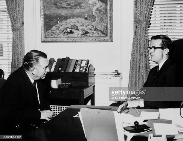Bill Lawrence interviews Special Council to the President Theodore Sorensen for Walt Disney Television via Getty Images News Reports 'The White House...