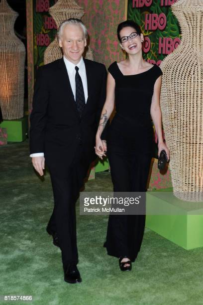 Bill Maher and Cara Santa Maria attend HBO EMMY After Party at Pacific Design Center on August 29 2010 in West Hollywood CA