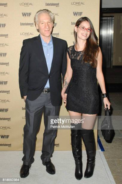 Bill Maher and Cara Santa Maria attend The 2010 Entertainment Weekly and Women In Film PreEmmy Party Sponsored by L'Oreal Paris at The Sunset Marquis...