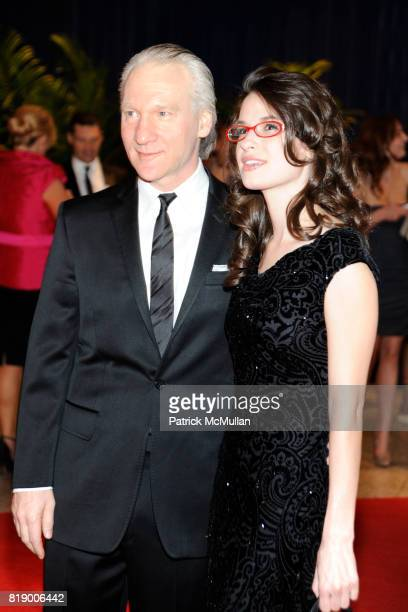 Bill Maher and Cara Santa Maria attend The 2010 WHITE HOUSE CORRESPONDENT'S DINNER ARRIVALS at The Washington Hilton on May 1st 2010 in Washington DC