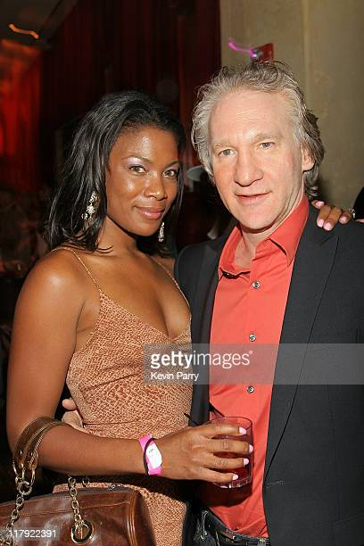 Bill Maher and guest during And1 Mixtape Tour Volume 9 Premiere After Party at White Orchid in Hollywood California United States
