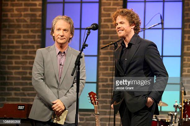 Bill Maher and Josh Ritter during Amazoncom Fishbowl with Bill Maher June 8 2006 at VPS Studios in Hollywood California United States