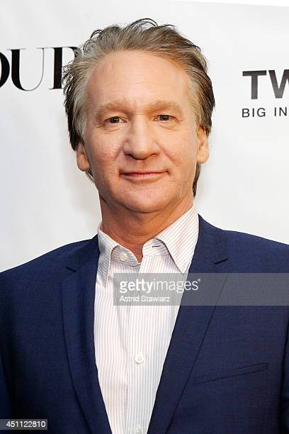Bill Maher attends a DuJour Magazine celebration of 12 seasons of REAL TIME with Bill Maher at UPDOWN presented by GILT and TW STEEL on June 23 2014...