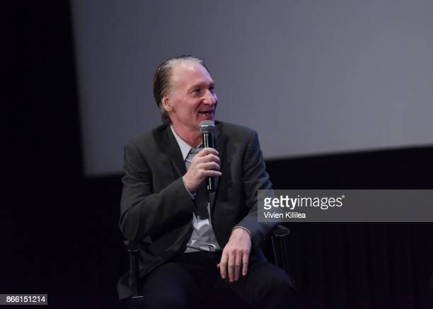 Bill Maher attends the Los Angeles Premiere of LBJ at ArcLight Hollywood on October 24 2017 in Hollywood California