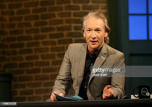 Bill Maher during Amazoncom Fishbowl with Bill Maher July 6 2006 at VPS Studios in Hollywood California United States