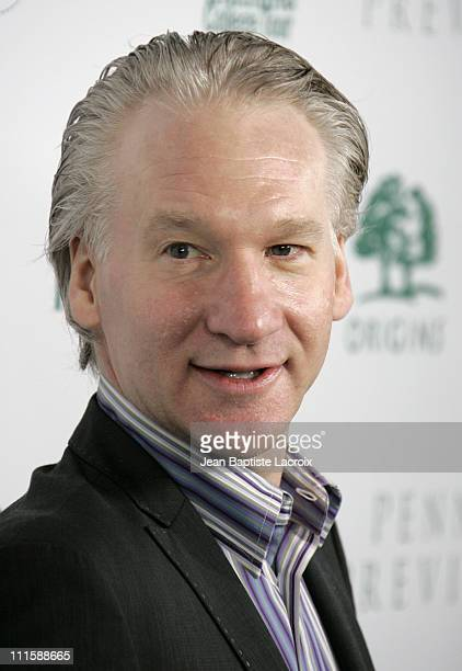 Bill Maher during ELLE Green Issue Launch Party Arrivals at Boulevard 3 in Hollywood California United States