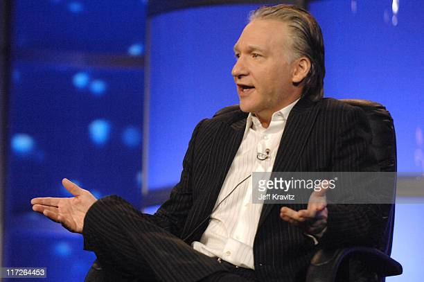 Bill Maher of Real Time with Bill Maher during HBO Winter 2007 TCA Press Tour in Los Angeles California United States