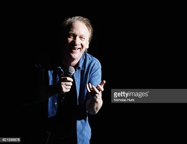 Bill Maher Performs During New York Comedy Festival at The Theater at Madison Square Garden on November 5 2016 in New York City