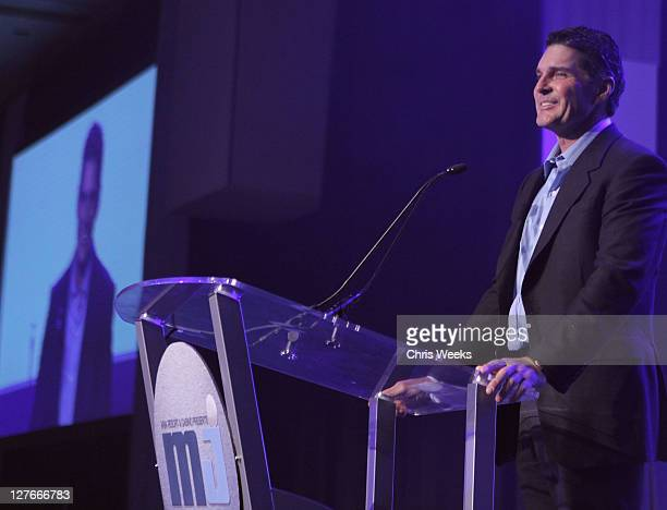Bill McBeath, president and chief operating officer of Aria attends the 10th Annual Michael Jordan Celebrity Invitational Celebration At ARIA Resort...
