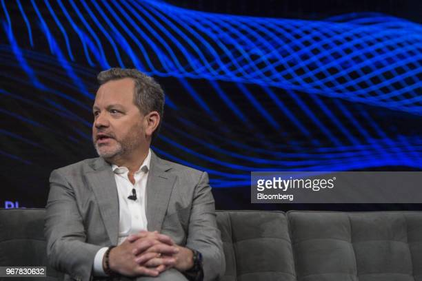 Bill McGlashan chief executive officer and managing partner of TPG Growth LLC speaks during the Bloomberg Invest Summit in New York US on Tuesday...